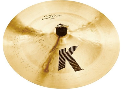 "1810970 Zildjian 17"" ZILDJIAN 17"" K Custom China Dark  17"" Chinacymbal"