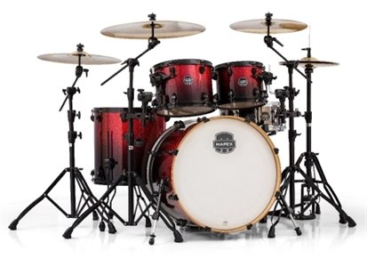 4067015 Mapex AR529SBNV MAPEX AR529SBNV Rock Shell-pack, Magma Red