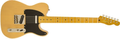 0303027550 Fender 030-3027-550 Squier Classic Vibe Telecaster 50s MP FB Butterscotch Blonde