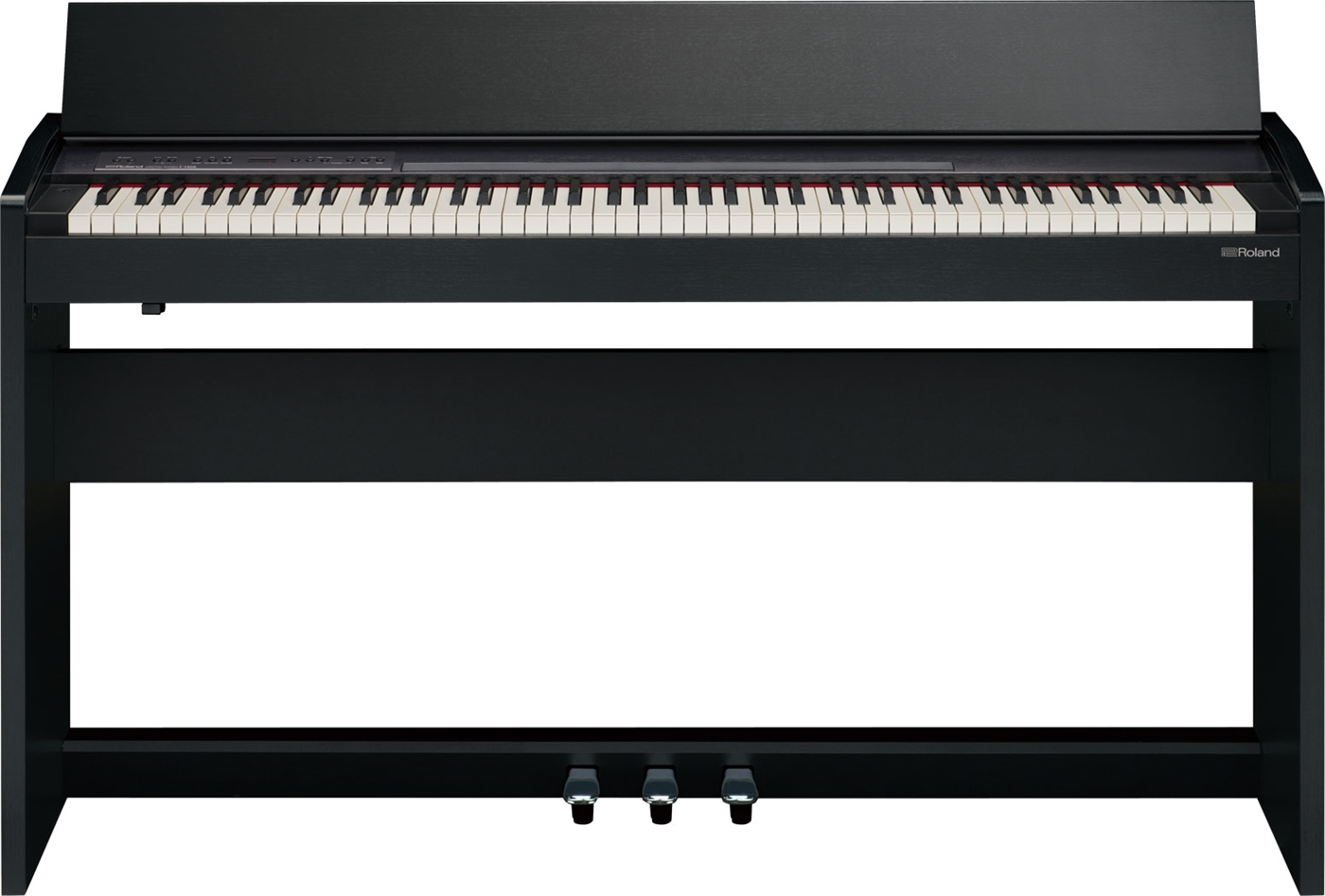 F-140R-CB Roland  Roland F-140R-CB Sort Digitalpiano med SuperNATURAL, Bluetooth