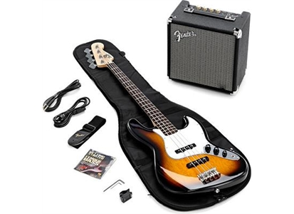 0301676632 Fender 030-1676-632 Squier Stop Dreaming Start Playing J-bass med Fender Rumble 15