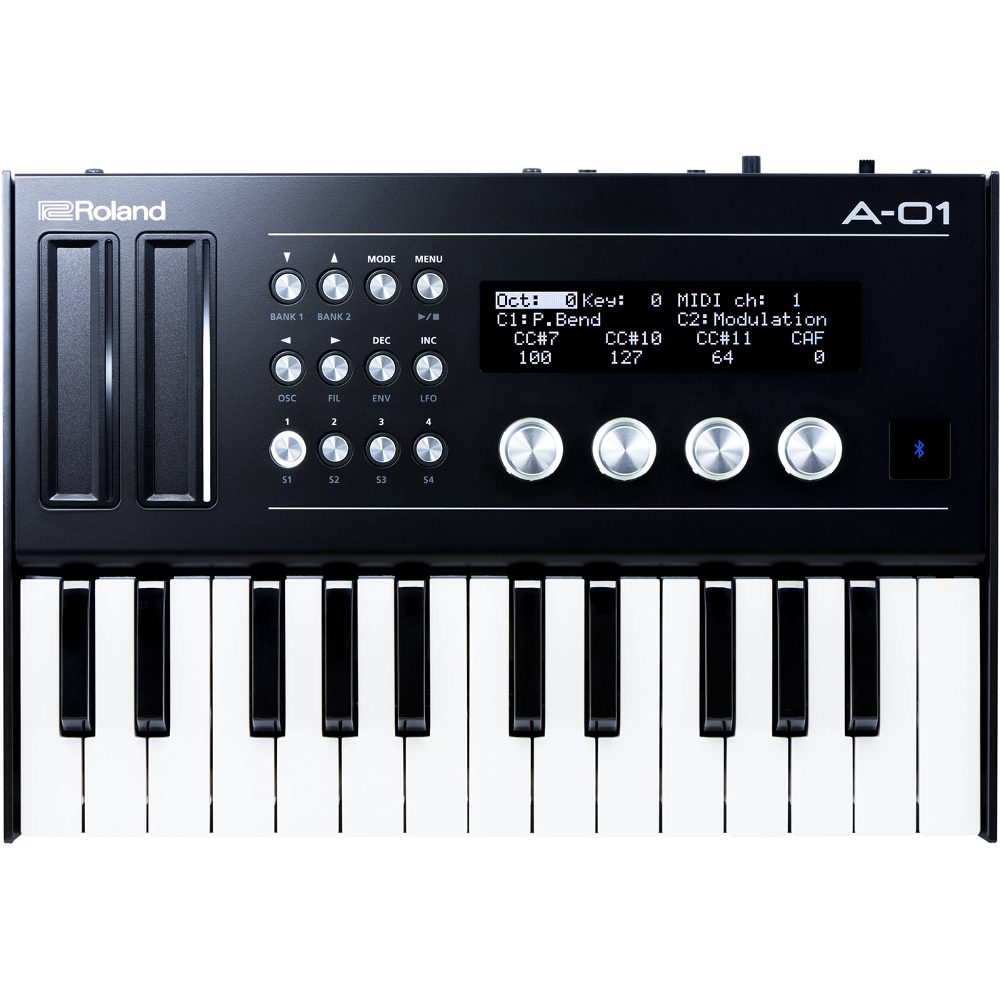 A-01K Roland  Roland A-01K 8-bits synth inkl. K-controller.