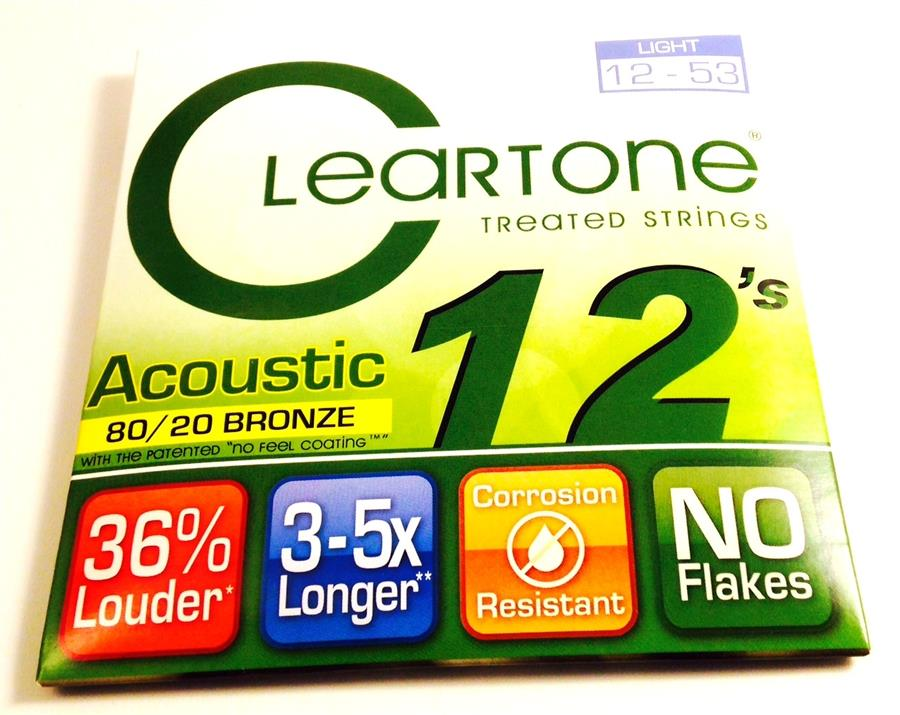 138786   Cleartone Acoustic 12s Light 12-53 §