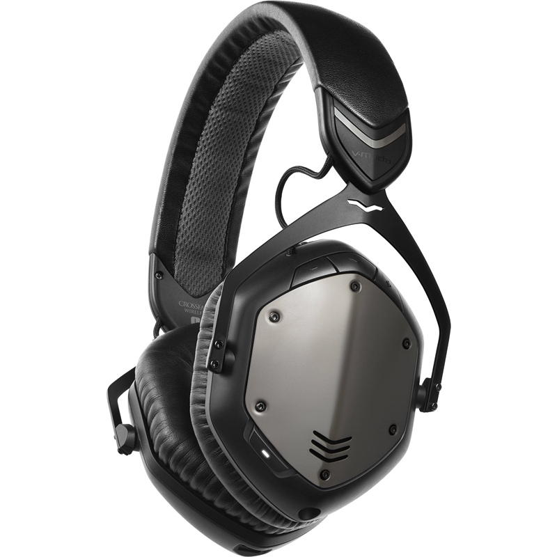 V-Moda Crossfade Wireless XFBT Gunblack XFBT-GM over ear trådløse hodetelefoner