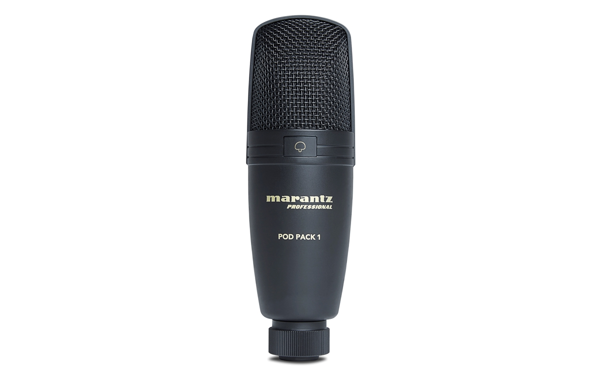 4850261  4850261 Marantz Pod Pack 1 USB Microphone with Broadcast Stand