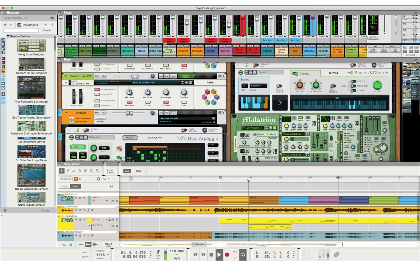 L852221 Propellerhead  Propellerhead Reason 9 [Download]
