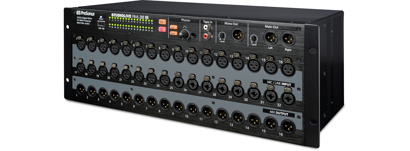 L851128 Presonus  Presonus Studiolive RML32AI | 32-Channel Touch-Software, Rack-Mounte