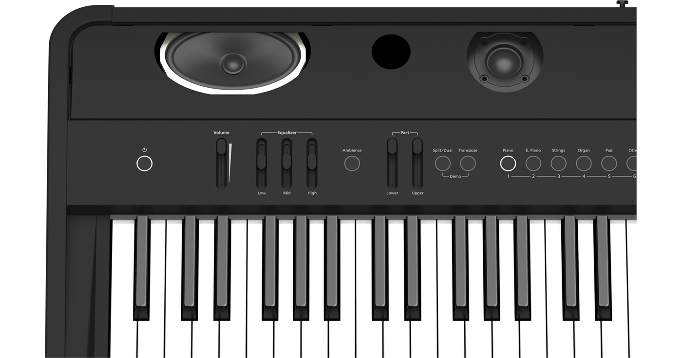 FP-90-BK Roland  Roland FP-90-BK A Portable Piano with Premium Performanc