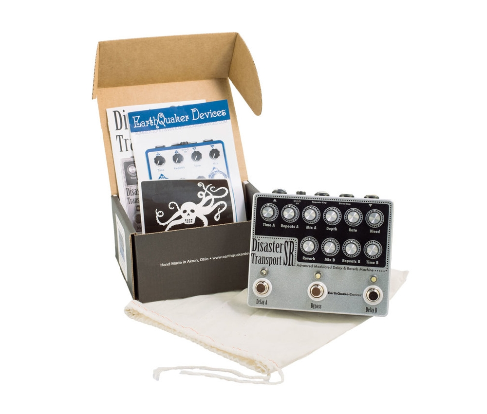 169923 Earthquaker EQDDISR Earthquaker Devices DisasterTransport SR Dual Delay Effektpedal.