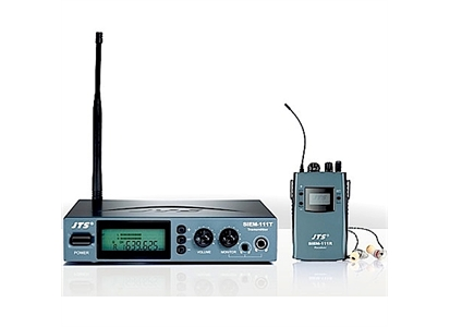 SIEM-111-JT JTS 90465-008 JTS Siem-111 in-ear monitor Stereo In-Ear monitor system, 598-622Mhz