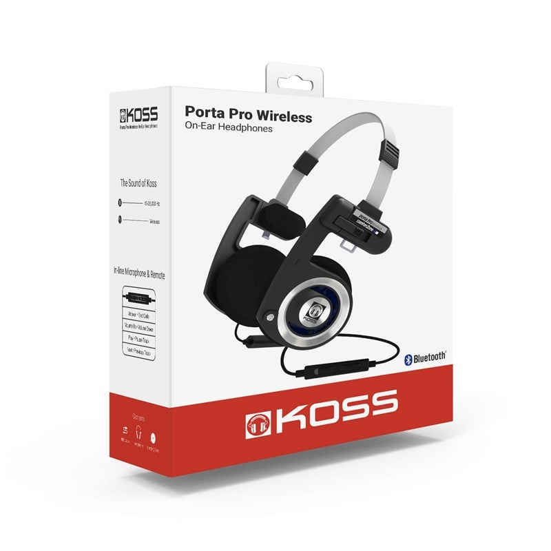 280236 Koss 280236 KOSS Hodetelefon PortaPro Wireless Wireless On-Ear