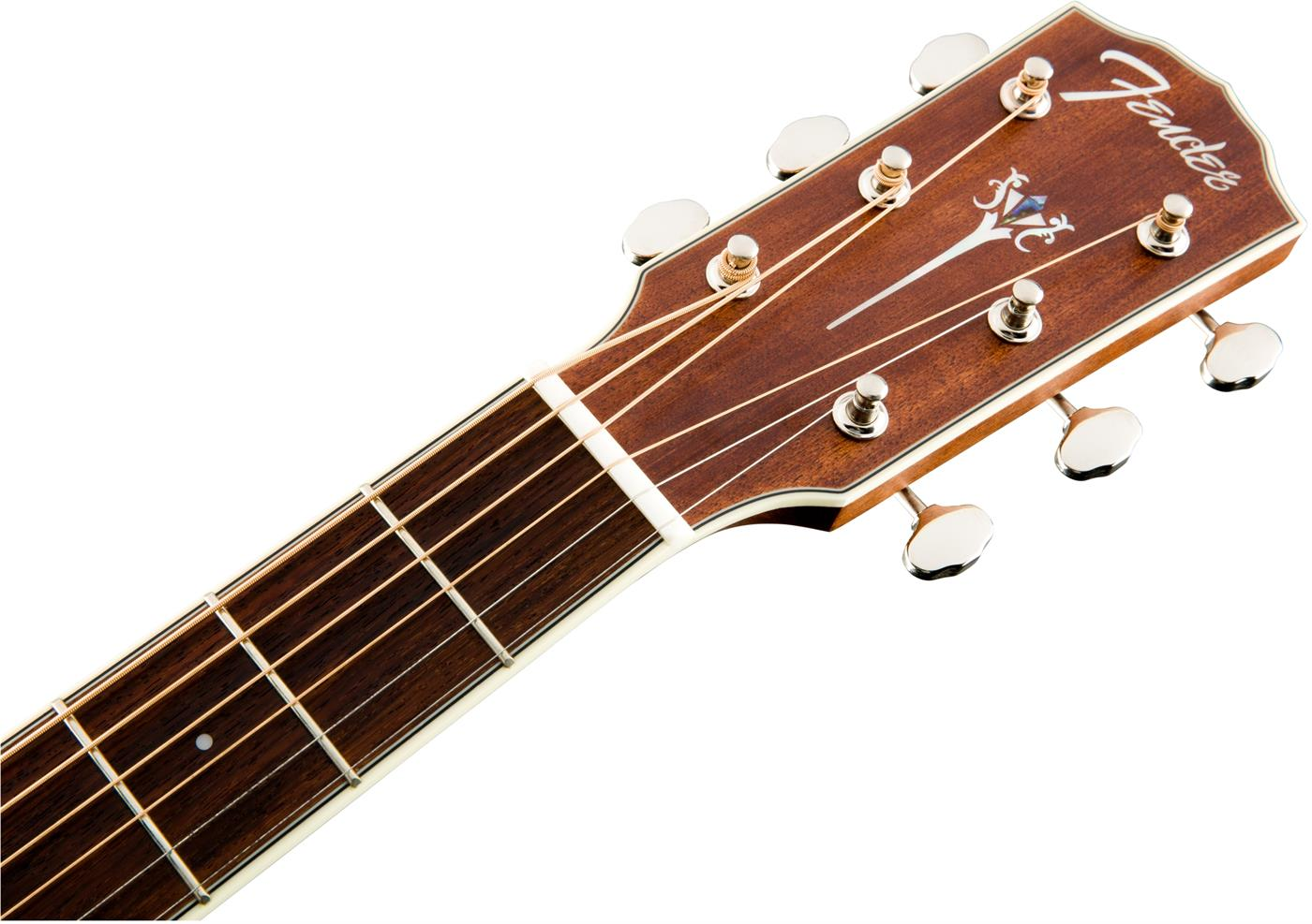 0970331322 Fender 097-0331-322 Fender Acoustic Guitars PM-3 Triple-0 Al l-Mahogany with Case, Nat