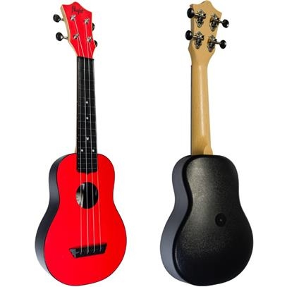 TUS35RD  TUS35RD Flight TUS 35 ABS Travel Ukulele Red