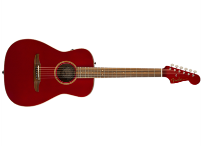 0970922215 Fender 097-0922-215 Fender Acoustic Guitars Malibu Classic, Hot Rod Red Metallic w/ba