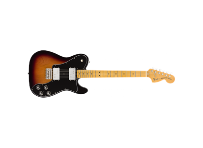 0149812300  014-9812-300 Fender Vintera '70s Tele Deluxe MN 3TS Maple Fingerboard, 3-Color Sunburst