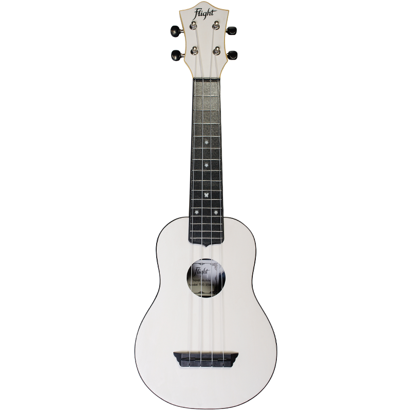 TUS35WH  TUS35WH Flight TUS 35 ABS Travel Ukulele White
