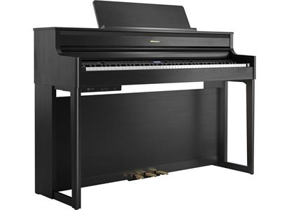 HP704-CH Roland  ROLAND HP704-CH PREMIUM CONCERT  PIANO (CHARCOAL BLACK)